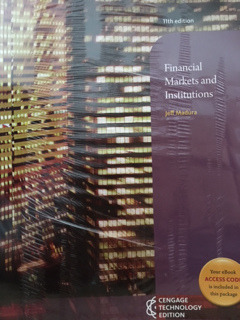 Financial Institutions And Markets Book